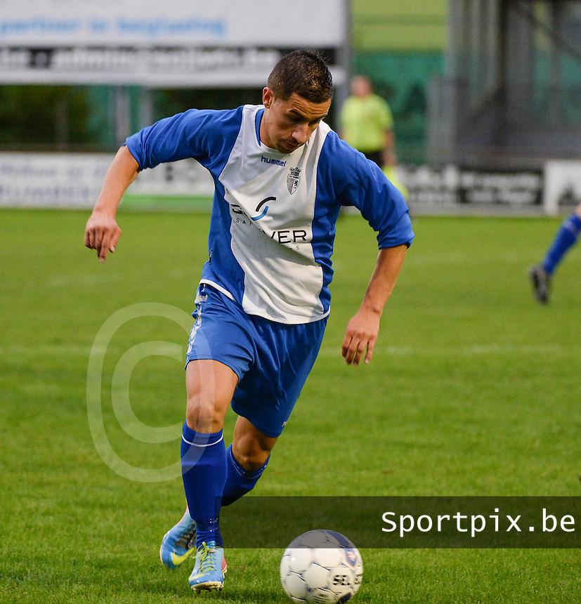 KSV Rumbeke  : Nicolas Da Silva <br /> foto VDB / BART VANDENBROUCKE