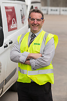 Logistics Manager Rob Pettican