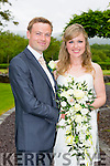 Emma McDonough, Listowel, daughter of Louis and Isabel McDonough, and Fergus Scannell, Listowel, son of Michael and Joan Scannell were married at St. Marys Church Listowel by Fr Declan O'Connor on Friday 19th June 2015 with a reception at Ballygarry House hotel