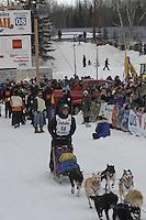 Cliff Roberson Willow restart Iditarod 2008.
