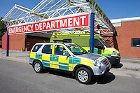 Accident & Emergency Paramedic Vehicle