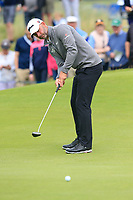 Paul Waring (ENG) putts on the 17th green during Saturday's Round 3 of the Dubai Duty Free Irish Open 2019, held at Lahinch Golf Club, Lahinch, Ireland. 6th July 2019.<br /> Picture: Eoin Clarke | Golffile<br /> <br /> <br /> All photos usage must carry mandatory copyright credit (© Golffile | Eoin Clarke)