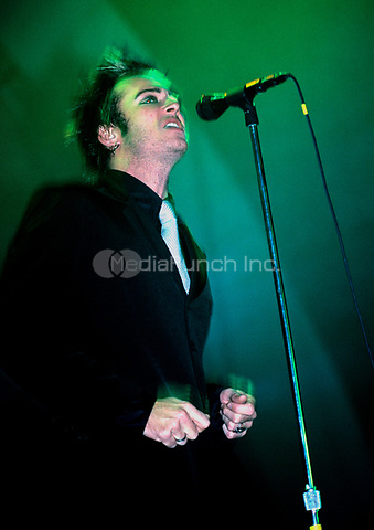 Stone Temple Pilots performing at The Mecca Arena in Milwaukee, Wisconsin.<br /> Dec. 13,1996<br /> &copy; Gene Ambo / MediaPunch **NO UK or Japan***
