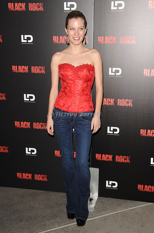 "Ashley Hinshaw at the screening of ""Black Rock"" held at the Arclight Theatre in Los Angeles, CA. on May 8, 2013."