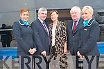 At the launch of the Aer Arann Dublin Kerry flights .L-R Melanie Fitzgerald, Chairman of Aer Arann Padraig O'Ceidigh,  Kathleen O'Regan Shephard Director of Kerry Airport  and Karen McCarthy. ..