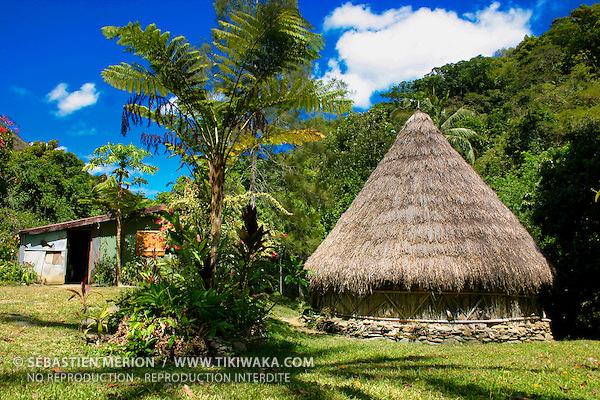 Kanak hut from tendo tribe north province new caledonia for Constructeur de maison individuelle nouvelle caledonie
