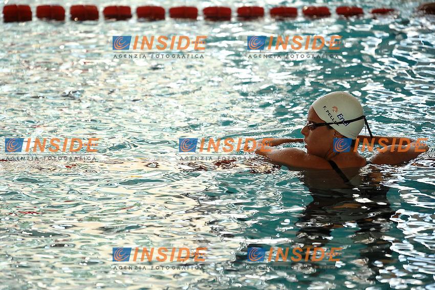 Federica PELLEGRINI<br /> Riccione 13/04/2011 Stadio del nuoto<br /> Campionati Italiani Assoluti primaverili di nuoto<br /> Foto Andrea Staccioli Insidefoto