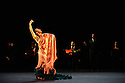 London, UK. 01.03.2015. Compania Manuel Linan presents NOMADA at Sadler's Wells, as part of the Flamenco Festival London 2015. the company is: Manuel Linan, Anabel Moreno, Agueda Saavedra, Immaculada Aranda, Jose Maldonado, Jonatan Miro. Photograph © Jane Hobson.