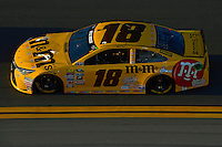 12-13 February, 2016, Daytona Beach, Florida, USA<br /> Kyle Busch, M&M's 75 Toyota Camry<br /> ©2016, F. Peirce Williams