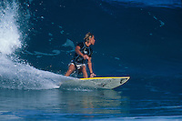 Lisa Andersen (USA) . Rocky Point, Hawaii 1998.  .Photo:  joliphotos.com