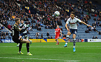 Preston North End's Josh Harrop scores his side's fifth goal <br /> <br /> Photographer Kevin Barnes/CameraSport<br /> <br /> The EFL Sky Bet Championship - Preston North End v Barnsley - Saturday 5th October 2019 - Deepdale Stadium - Preston<br /> <br /> World Copyright © 2019 CameraSport. All rights reserved. 43 Linden Ave. Countesthorpe. Leicester. England. LE8 5PG - Tel: +44 (0) 116 277 4147 - admin@camerasport.com - www.camerasport.com