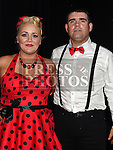 Joey and Kaimhe Brady who took part in the Moneymore strictly come dancing event in The Barbican Centre. Photo:Colin Bell/pressphotos.ie