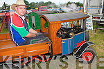 Kilflynn Vintage Rally : Attending the Kilflynn Vintage rally on Sunday was John O'Regan, Ballyheigue who was demonstrating his 41/2 inch scale model of The Fode Staem Wacon delivery truck