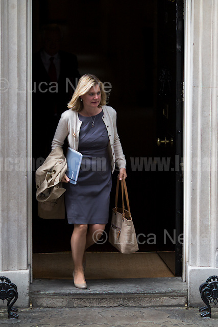 Justine Greening MP (Secretary of State for Education, Minister for Women and Equalities).<br />