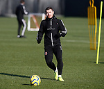 John Fleck of Sheffield Utd during the Press Conference & Training at the Steelphalt Academy, Sheffield. Picture date: 7th February 2020. Picture credit should read: Simon Bellis/Sportimage