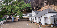 Panoramic photo of Dambulla Cave Temples, Dambulla, Central Province, Sri Lanka, Asia. This is a panoramic photo of Dambulla Cave Temples, Dambulla, Central Province, Sri Lanka, Asia. Dambulla Cave Temples, a series of five cave temples are the most popular place to visit in Dambulla.