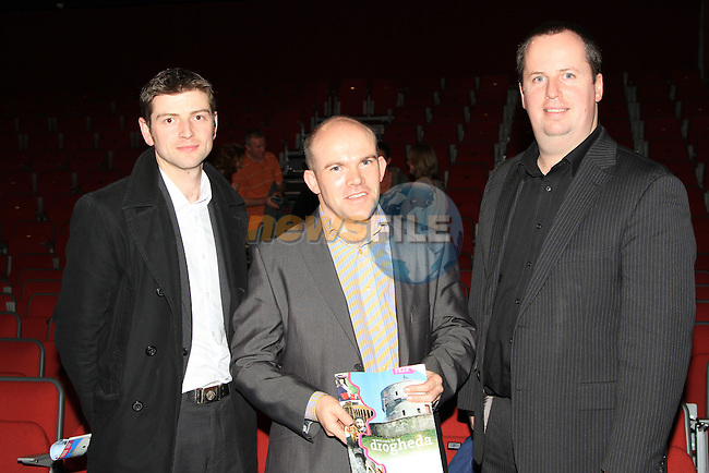 Martin Hardy, Kevin Wall and Rory Scott attended and enjoyed the Local Heroes TLT event..Picture: Shane Maguire / www.newsfile.ie.