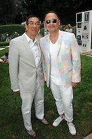 John Yoon, Christopher Yin==<br /> LAXART 5th Annual Garden Party Presented by Tory Burch==<br /> Private Residence, Beverly Hills, CA==<br /> August 3, 2014==<br /> ©LAXART==<br /> Photo: DAVID CROTTY/Laxart.com==