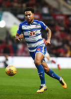 Liam Moore of Reading during the Sky Bet Championship match between Bristol City and Reading at Ashton Gate, Bristol, England on 26 December 2017. Photo by Paul Paxford.
