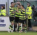 08/11/2009  Copyright  Pic : James Stewart.sct_jspa26_falkirk_v_celtic  . :: SCOTT MCDONALD CELEBRATES AFTER HE SCORES CELTIC'S THIRD :: .James Stewart Photography 19 Carronlea Drive, Falkirk. FK2 8DN      Vat Reg No. 607 6932 25.Telephone      : +44 (0)1324 570291 .Mobile              : +44 (0)7721 416997.E-mail  :  jim@jspa.co.uk.If you require further information then contact Jim Stewart on any of the numbers above.........