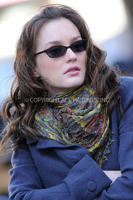 WWW.ACEPIXS.COM . . . . . ....December 1 2009, New York City....Actress Leighton Meester on the set of the TV show 'Gossip Girl' in Midtown Manhattan on December 1 2009 in New York City....Please byline: KRISTIN CALLAHAN - ACEPIXS.COM.. . . . . . ..Ace Pictures, Inc:  ..(212) 243-8787 or (646) 679 0430..e-mail: picturedesk@acepixs.com..web: http://www.acepixs.com