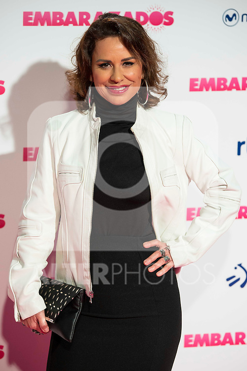 Vicky Larraz attends to the premiere of the film &quot;Embarazados&quot; at Capitol Cinemas in Madrid, January 27, 2016.<br /> (ALTERPHOTOS/BorjaB.Hojas)