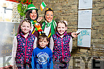 Enjoying the Circus Festival at Siamsa Tíre on Saturday were Aoife Gascoigne, Mark Griffin and Niamh Gascoigne with Evangeline O'Neill and Nancy O'Sullivan