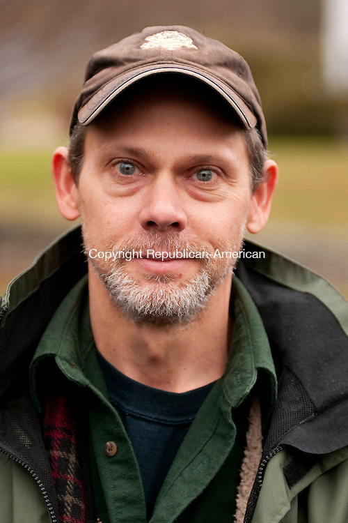 NORFOLK,  CT, 14 DECEMBER  2011-122311JS04-Norfolk Curling Club member Russell Russ.<br />  Jim Shannon Republican-American
