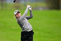 Chiara Horder (Germany) during the Irish Girls' Open Stroke Play Championship, Roganstown Golf Club, Swords, Ireland. 13/04/2018.<br /> Picture: Golffile | Fran Caffrey<br /> <br /> <br /> All photo usage must carry mandatory copyright credit (&copy; Golffile | Fran Caffrey)