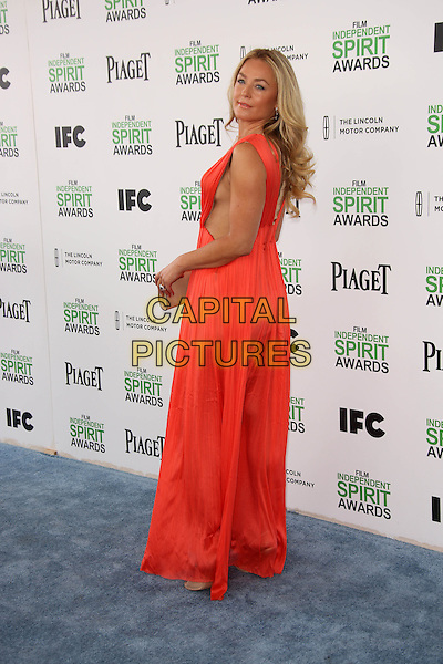 SANTA MONICA, CA - March 01: Elisabeth Rohm at the 2014 Film Independent Spirit Awards Arrivals, Santa Monica Beach, Santa Monica,  March 01, 2014. Credit: Janice Ogata/MediaPunch<br /> CAP/MPI/JO<br /> &copy;JO/MPI/Capital Pictures