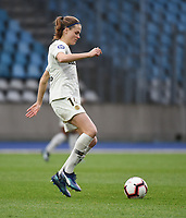 20190113 - LILLE , FRANCE : PSG's Irene Paredes pictured during women soccer game between the women teams of Lille OSC and Paris Saint Germain  during the 16 th matchday for the Championship D1 Feminines at stade Lille Metropole , Sunday 13th of January 2019,  PHOTO Dirk Vuylsteke | Sportpix.Be