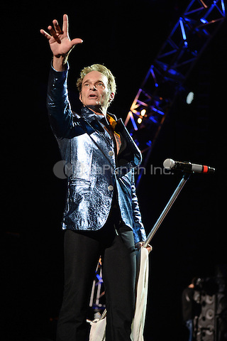 WEST PALM BEACH, FL - SEPTEMBER 15: David Lee Roth of Van Halen performs at The Perfect Vodka Amphitheater on September 15, 2015 in West Palm Beach Florida. Credit: mpi04/MediaPunch