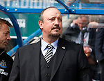 Rafael Benitez manager of Newcastle United during the premier league match at the John Smith's Stadium, Huddersfield. Picture date 20th August 2017. Picture credit should read: Simon Bellis/Sportimage