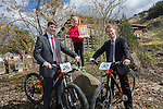 Vattenfall - Opening of new Blade Trail mountain bike track  at Glyncorrwg Ponds.<br /> <br /> 11.04.14<br /> <br /> &copy;Steve Pope-FOTOWALES