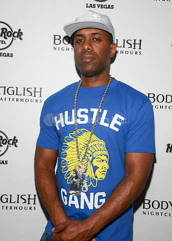LAS VEGAS, NV - May 25: DJ Whoo Kid at Body English nightclub at the Hard Rock Hotel on May 25, 2014 in Las Vegas, Nevada. © RTNGDP /MediaPunch