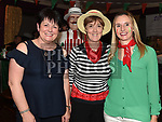 Betty McMullan, Sheila Callan and Linda Grimes at the Italian night held in Watters Collon in aid of the Gary Kelly Cancer Support  Centre. Photo:Colin Bell/pressphotos.ie