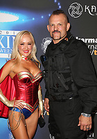 LOS ANGELES, CA - OCTOBER 21: Heidi Northcott, Chuck Liddell, at 2017 MAXIM Halloween Party at LA Center Studios in Los Angeles, California on October 21, 2017. Credit: Faye Sadou/MediaPunch /NortePhoto.com