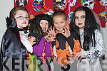 Pictured at the fancy Dress day at Balloonagh school on Friday were PJ O'Sullivan, Ciara O'Mahony, Ciara Madden and Dana Casey..