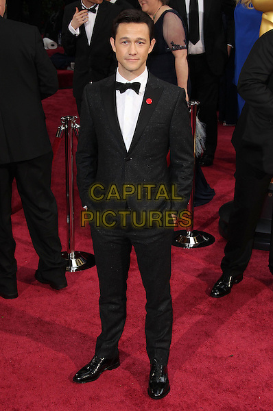 02 March 2014 - Hollywood, California - Joseph Gordon-Levitt. 86th Annual Academy Awards held at the Dolby Theatre at Hollywood &amp; Highland Center. <br /> <br /> CAP/ADM/RE<br /> &copy;Russ Elliot/AdMedia/Capital Pictures