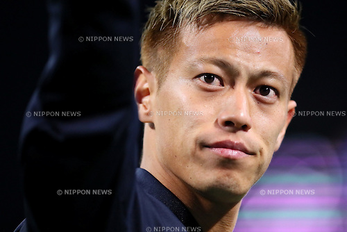 Keisuke Honda (JPN), MARCH 29, 2016 - Football / Soccer : FIFA World Cup Russia 2018 Asian Qualifier Second Round Group E match between Japan 5-0 Syria at Saitama Stadium 2002 in Saitama, Japan. (Photo by Yohei Osada/AFLO SPORT)