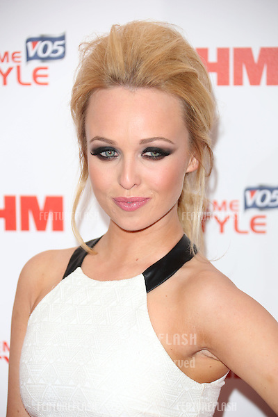 Jorgie Porter arriving for the FHM 100 Sexiest Women in the World 2013 party at the Sanderson Hotel, London. 01/05/2013 Picture by: Henry Harris / Featureflash