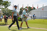 Henrik Stenson (SWE) makes his way down 1 during round 2 of the WGC FedEx St. Jude Invitational, TPC Southwind, Memphis, Tennessee, USA. 7/26/2019.<br /> Picture Ken Murray / Golffile.ie<br /> <br /> All photo usage must carry mandatory copyright credit (© Golffile | Ken Murray)