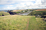 Abercastle bay coast path,  Pembrokeshire, Wales