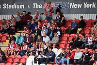 Lincoln City fans enjoy the pre-match atmosphere<br /> <br /> Photographer Chris Vaughan/CameraSport<br /> <br /> The EFL Sky Bet Championship - Rotherham United v Lincoln City - Saturday 10th August 2019 - New York Stadium - Rotherham<br /> <br /> World Copyright © 2019 CameraSport. All rights reserved. 43 Linden Ave. Countesthorpe. Leicester. England. LE8 5PG - Tel: +44 (0) 116 277 4147 - admin@camerasport.com - www.camerasport.com
