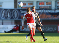 Fleetwood Town&rsquo;s Harrison Biggins and Walsall's <br /> <br /> Photographer Leila Coker/CameraSport<br /> <br /> The EFL Sky Bet League One - Fleetwood Town v Walsall - Saturday 5th May 2018 - Highbury Stadium - Fleetwood<br /> <br /> World Copyright &copy; 2018 CameraSport. All rights reserved. 43 Linden Ave. Countesthorpe. Leicester. England. LE8 5PG - Tel: +44 (0) 116 277 4147 - admin@camerasport.com - www.camerasport.com