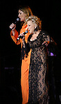 "Judy Gold and Bette Midler performing at the  Bette Midler's New York Restoration Project's Annual ""Hulaween in the Big Easy"" at  the Waldorf Astoria on October 31, 2013  in New York City."