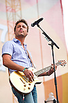 Eric Gunderson of Love and Theft  performs on the Chevrolet Riverfront Stage during Day 1 of the 2013 CMA Music Festival in Nashville, Tennessee.