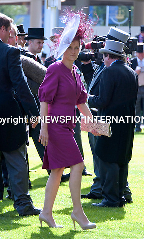 "SOPHIE, COUNTESS OF WESSEX, ROYAL ASCOT.Royal Ascot Day 1, Ascot_14/11/2011.Mandatory Photo Credit: ©Shaw/NEWSPIX INTERNATIONAL..**ALL FEES PAYABLE TO: ""NEWSPIX INTERNATIONAL""**..PHOTO CREDIT MANDATORY!!: Newspix International(Failure to credit will incur a surcharge of 100% of reproduction fees)..IMMEDIATE CONFIRMATION OF USAGE REQUIRED:.Newspix International, .31 Chinnery Hill, Bishop's Stortford, ENGLAND CM23 3PS..Tel:+441279 324672  ; Fax: +441279656877..Mobile:  0777568 1153..e-mail: info@newspixinternational.co.uk"