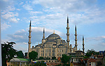 The Blue Mosque was built between 1609 and 1616 by imperial architect Mehmet Aga.