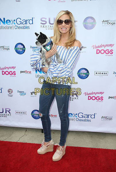 WEST HOLLYWOOD, CA - MAY 19:  Camille Grammer, at The Vanderpump Dog Foundation's 3rd Annual World Dog Day Event Presented by NexGard &amp; SUR Restaurant on May 19, 2018 at West Hollywood Park in West Hollywood, California on May 19, 2018. <br /> CAP/MPI/FS<br /> &copy;FS/MPI/Capital Pictures